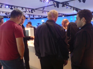 BLoggers at the motorshow