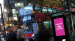NFC enabled bus stop in London