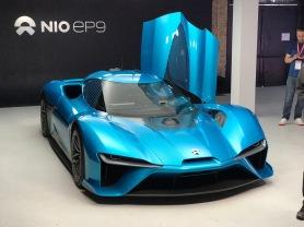 Nio EP9 autonomous race car
